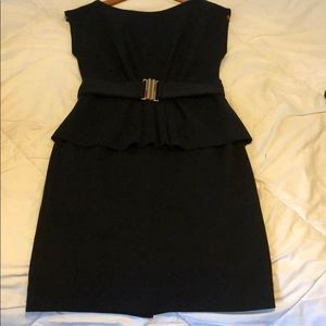 Shoshanna size 4 Peplum dress